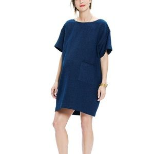 Hatch Blue Stitched Naomi Short Dress Tunic 2